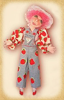 Roseberry, a doll by Patti LaValley
