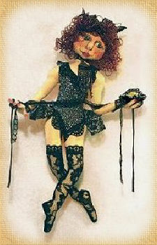 Saucy uzy, a doll by Patti LaValley