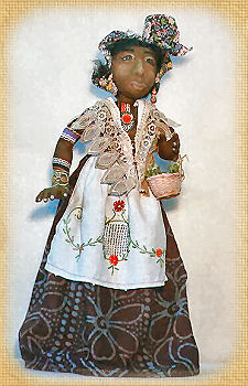 Tabetha, a doll by Patti LaValley