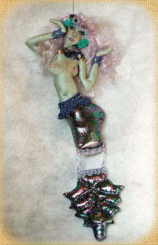 Seafoam, a doll by Patti LaValley