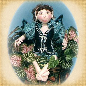 Gretchen the Garden Sprite by Nita Butler