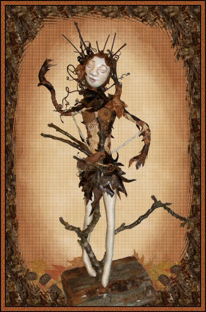 Earth Bound, a doll by Patti LaValley