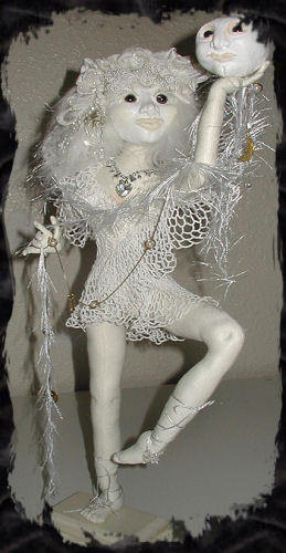 Moonraiser, a doll by Patti LaValley
