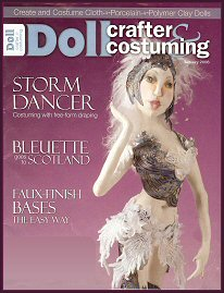 Storm Dancer on the cover of Doll Crafter and Costuming magazine